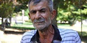 Kanser hastası yaşlı adama devlet sahip çıktı