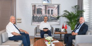ÇAĞ Üniversitesi Rektörü Prof.Dr Ay Ve Çetin Bedestenci'den Vali Demirtaş'a Ziyaret
