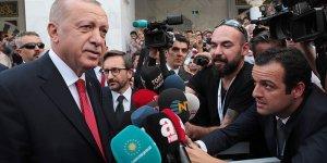 Erdoğan: Mücadelemizi yılmadan devam ettireceğiz