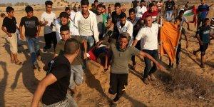 İsrail Gazze sınırında 5 Filistinliyi yaraladı