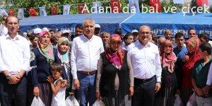 Adana'da bal ve çiçek festivali
