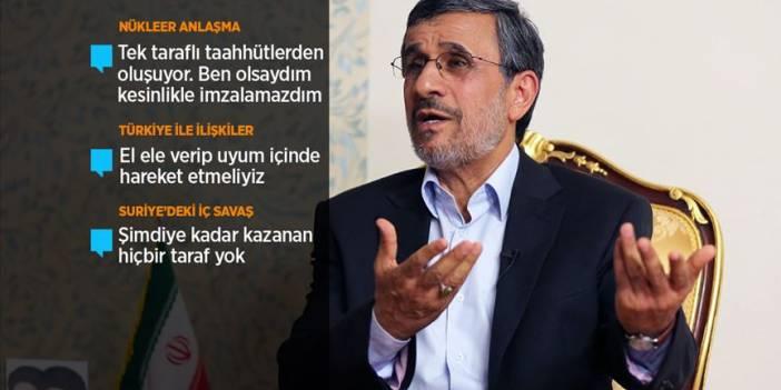 Eski İran Cumhurbaşkanı Ahmedinejad AA'ya konuştu