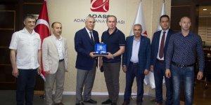 Rus ticaret heyeti Adana'da tekstilcilerle buluştu