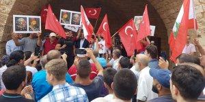 Lübnan'da Cumhurbaşkanı Avn'ın 'Osmanlı açıklamaları' protesto edildi
