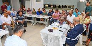 Vali Demirtaş, Tellidere Mahallesinde Vatandaşlarla Bir Araya Geldi
