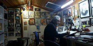 Ressam Necati Derya 2020'ye hazırlanıyor