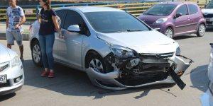 Taburcu oldu trafik kazasında yaralandı