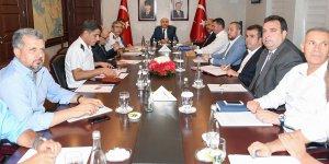 İl Spor Güvenliği Toplantısı Vali Demirtaş'ın başkanlığında gerçekleştirildi