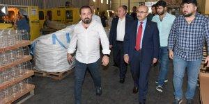 Vali Demirtaş'tan Aspet Preform Üretim Tesislerine Ziyaret