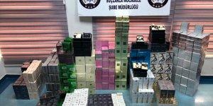 Adana'da kaçak parfüm operasyonu