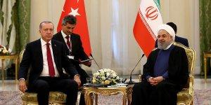 Erdoğan ile Ruhani görüşmesi başladı