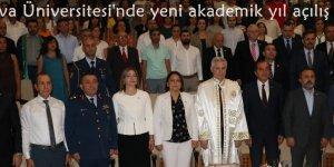 Çukurova Üniversitesi'nde yeni akademik yıl açılış töreni