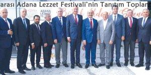 3.Uluslararası Adana Lezzet Festivali'nin Tanıtım Toplantısı ..