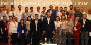 """Adana'da """"Mültecilerin Eğitime Erişimi Alt Başlıklı İnsan Hakları"""" eğitimi"""