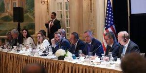 Erdoğan Doğu-Batı Enstitüsü'nce düzenlenen toplantıya katıldı