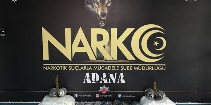 Adana'da uyuşturucu operasyonunda yakalanan 3 zanlıdan 2'si tutuklandı