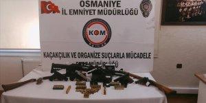 Osmaniye'de sebze ve meyve halinde silah operasyonu