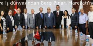 Çukurova iş dünyasından Barış Pınarı Harekatı'na destek