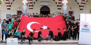 Adana Gençlik Merkezi'nden Mehmetçiğe dua desteği ,,