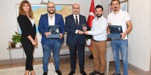 Çukurova Racing Takımı'ndan Vali Mahmut Demirtaş'a Ziyaret