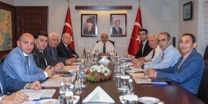 Toprak Koruma Kurulu Toplantısı Vali Demirtaş Başkanlığında Düzenlendi