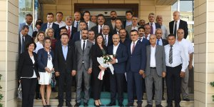 Vali Demirtaş'a 19 Ekim Muhtarlar Günü Ziyareti