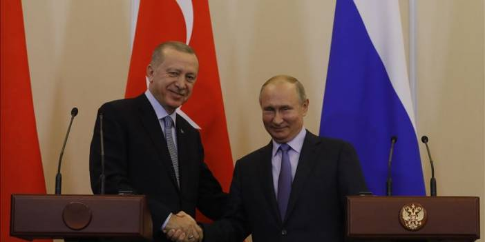 Erdoğan ile Rusya Devlet Başkanı Putin telefonda görüştü