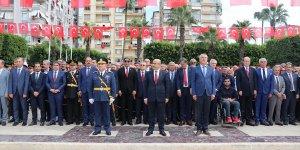 Çukurova'da 29 Ekim Cumhuriyet Bayramı kutlanıyor..