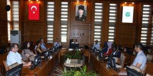 Çukurova Üniversitesi Yönetimi YÖK Burslusu Öğrenciler İle Buluştu