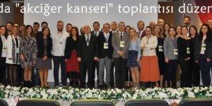 """Adana'da """"akciğer kanseri"""" toplantısı düzenlendi"""