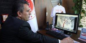 """Adana Cumhuriyet Başsavcısı Yurdagül, AA'nın """"Yılın Fotoğrafları"""" oylamasına katıldı"""
