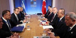 Erdoğan NATO Liderler Zirvesi kapsamında temaslarda bulundu