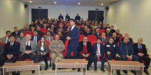 """Tufanbeyli'de """"AFAD Gönüllülük Projesi"""" anlatıldı"""