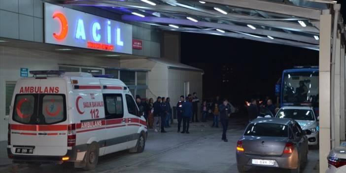 Adana'da polisi yaralayan şüpheli ruh sağlığı hastanesinde tedaviye alındı