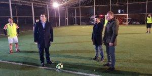 Aladağ'da kurumlararası halı saha turnuvası yapıldı