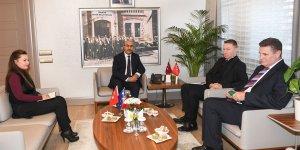 Avustralya Ankara Büyükelçisi Marc Innes-Brown Vali Demirtaş'ı Ziyaret Etti