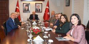 Kimya OSB Toplantısı Vali Demirtaş'ın Başkanlığında Gerçekleştirildi