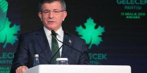 Ahmet Davutoğlu yeni kurulan partiyi tanıttı