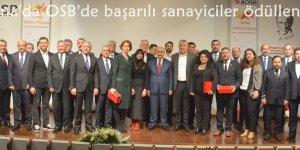 Adana'da OSB'de başarılı sanayiciler ödüllendirildi