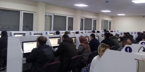 Kalfalık ve ustalık için 142 dalda yapılan ilk e-sınav tamamlandı