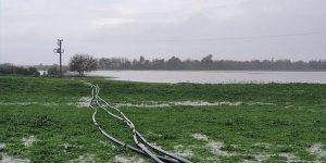Yumurtalık'ta sağanak tarım arazilerine zarar verdi