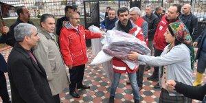 Adana'da sağanaktan oluşan mağduriyetler gideriliyor