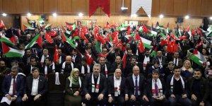 """Hatay'da """"Kudüs İçin Ayaktayız, Filistin İçin Buradayız"""" programı"""
