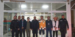 Vali Demirtaş Yıl Başı Gecesinde Doğankent Semt Polikliniği Ziyaret Etti