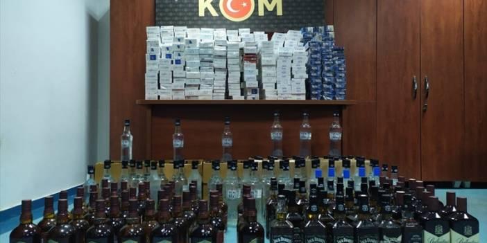 Adana'da 525 litre sahte içki ele geçirildi
