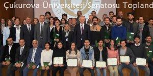Çukurova Üniversitesi Senatosu Toplandı