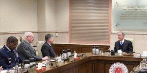 Bakanı Akar ABD Suriye Özel Temsilcisi Jeffrey'i kabul etti