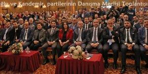 AK Parti'li Sarıeroğlu ve Kandemir, partilerinin Danışma Meclisi Toplantısına katıldı