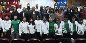 Kocakaya'dan, Adana TOHM'a Ziyaret
