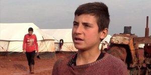 'Çamur kamplarda' yaşayan küçük İsmail: Kahverengiden nefret ediyorum